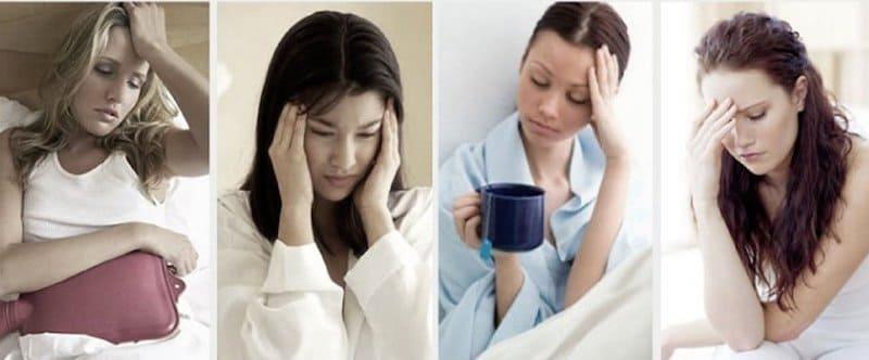 dolor ovulación y dolores premenstruales